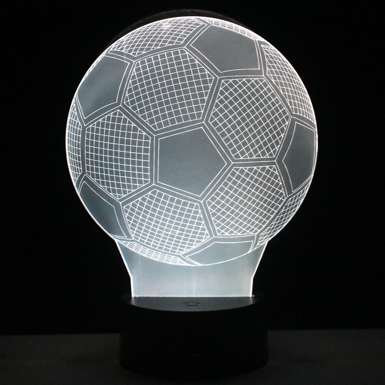 3D LAMP FOOTBALL
