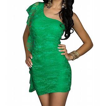 Waooh - moda - vestido corto de un hombro