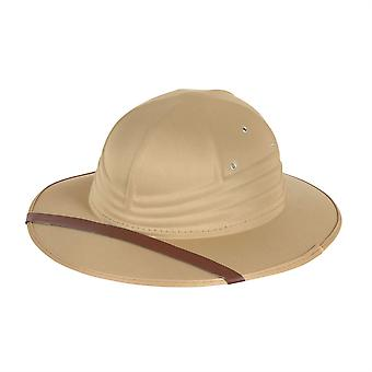 Safari Hat Beige Nylon følte