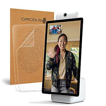 Celicious Matte Anti-Glare Screen Protector Film Compatible with Facebook Portal Plus [Pack of 2]