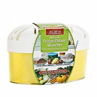 Ozmo Natural Fridge Odour Absorber - 200g Lemon Scent from Caraselle