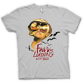 Mens T-shirt - Fear And Loathing vleermuizen - Funny