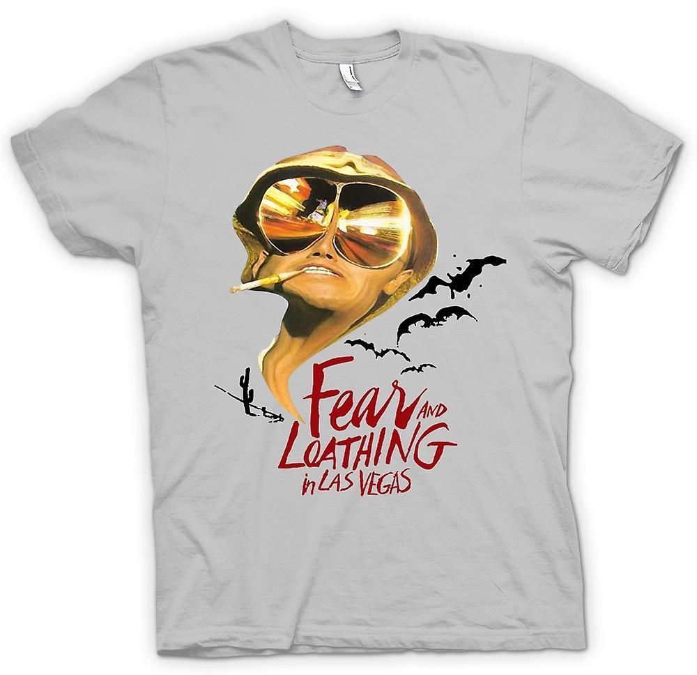 Herr T-shirt - rädsla och avsky fladdermöss - Funny