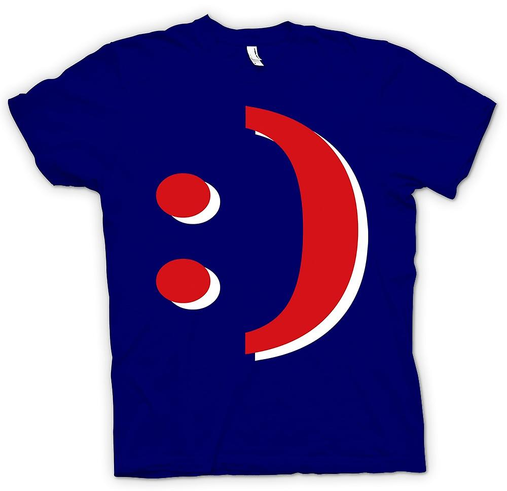 Herr T-shirt - Smiley - Funny