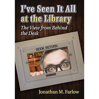 Ich habe es gesehen, alle in der Bibliothek - The View hinter dem Schreibtisch von Jon