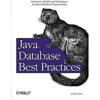 Melhores práticas de banco de dados de Java