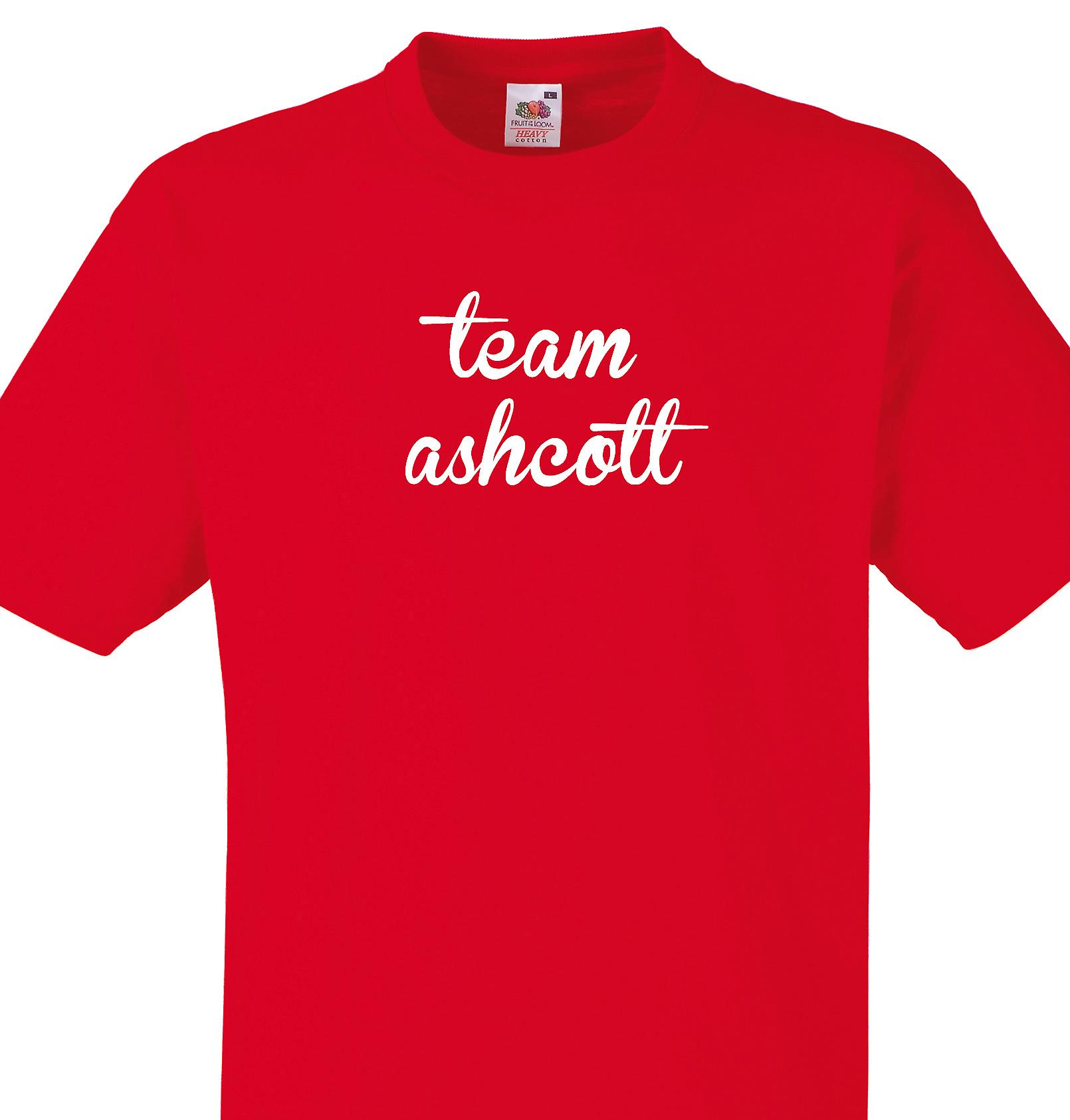 Team Ashcott Red T shirt