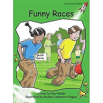 Funny Races (Red Rocket Readers)