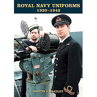 Royal Navy uniformer 1930-1945