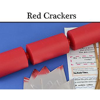 Red Make & Fill Your Own Cracker Making Craft Kits, Boards & Accessories