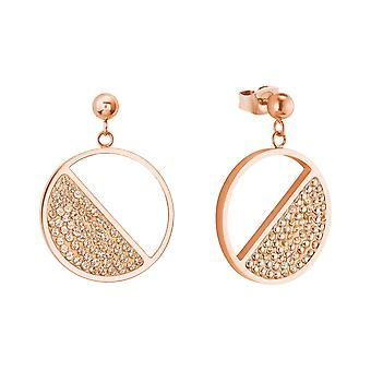 s.Oliver jewel ladies earrings stainless steel Rosé gold 2024274