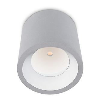Kosmos LED Outdoor-Decke hellgrau - Leds C4 15-9790-34-CL