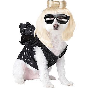 Diva del pop Pet Costume