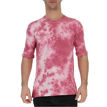 Laneus Pink Cotton T-shirt