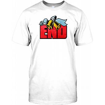 Slutt - hjort partiet Kids T skjorte