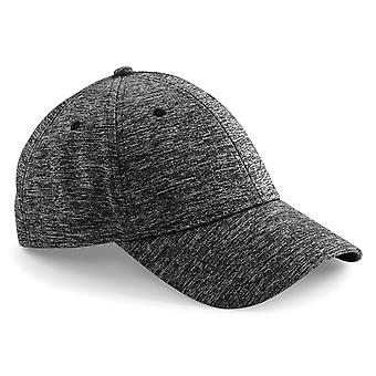 Beechfield Unisex Adults Spacer Marl Stretch Fit Cap (Pack of 2)