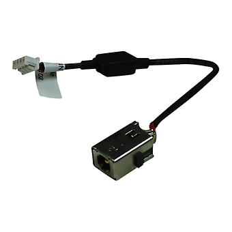 HP Mini 210-2070 compatibile Laptop DC presa Jack con cavo