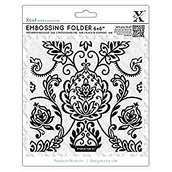 Xcut 6x6 Inch Embossing Folder Arts & Crafts Tile (XCU 515925)