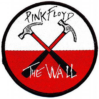 Pink Floyd Wall Hammers sew-on cloth patch   (ro)