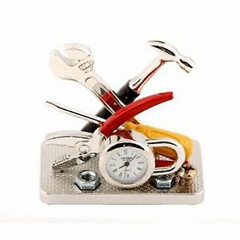 Miniature Tools and Padlock DIY Novelty Collectors Clock 9428