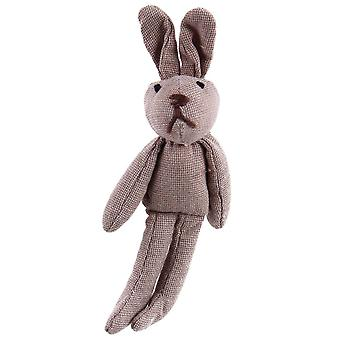 Cotton Bunny Brooch Pin