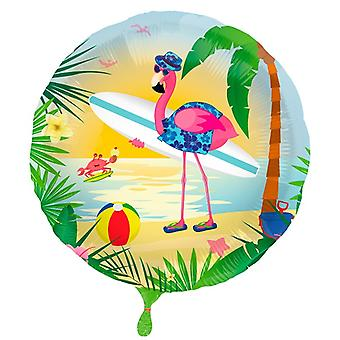 Folienballon Flamingo Pink Party Heliumballon 45 cm
