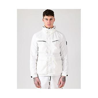Marshall Artist Garment Dyed White Field Jacket
