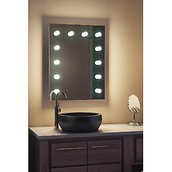 Diamond X Wallmount Hollywood Audio miroir, Dimmable LED k90CWaudbath
