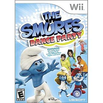 The Smurfs Dance Party Nintendo Wii Game