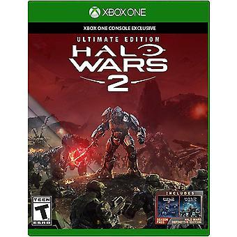 Halo Wars 2 Xbox One-spil (engelsk/arabisk boks)