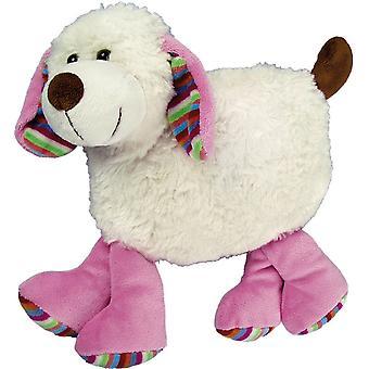Children's Faux Fur & Fleece Cherry Pit Pillow: Puppy