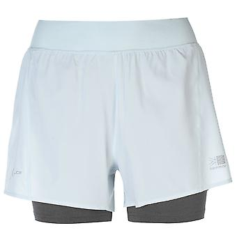 Karrimor Womens 2 in 1 Shorts Ladies