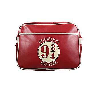 Harry Potter Messenger Bag Platform 9 3/4 Hogwarts Express Official Red & White