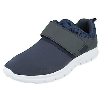 Mens Airtech Trainers Rebel Navy Size UK 11