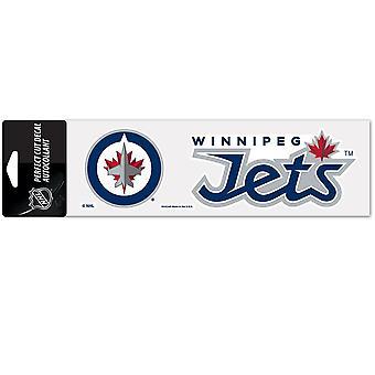 Wincraft Aufkleber 8x25cm - NHL Winnipeg Jets