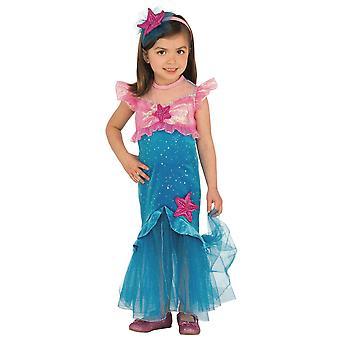 حورية البحر الأميرة الصغيرة ارييل قصة خيالية كتاب أسبوع الفتيات الأطفال زي
