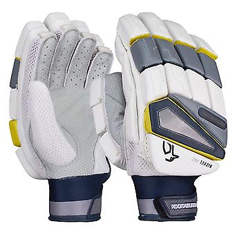 Kookaburra 2019 Nickel Pro Cricket Batting Gloves White/Grey