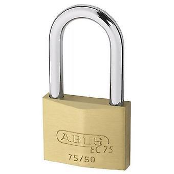 ABUS 50mm Messing Vorhängeschloss Schlüssel Sicherheit Longbow