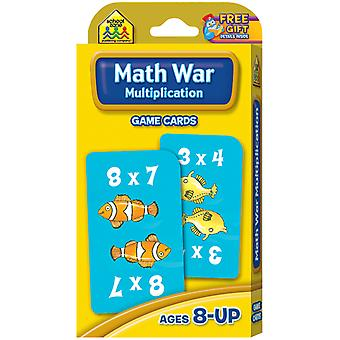 Cartes de jeux Multiplication Math guerre Szgame 5032