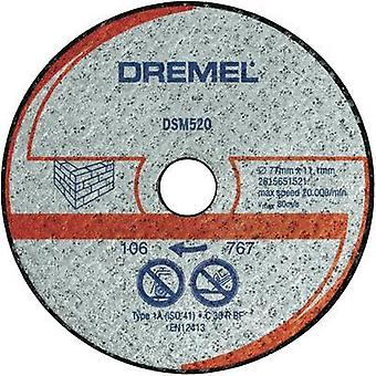 DREMEL® DSM20 Masonry Cutting Wheel (DSM520) Dremel 2615S520JA Diameter 77 mm