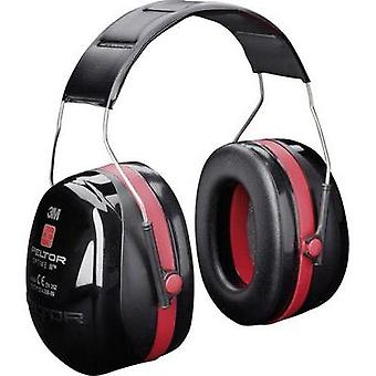 Peltor H540A Optime III Ear Defenders Black, Red 1pc.