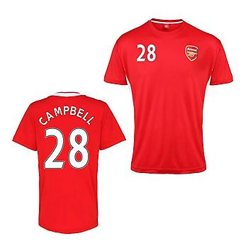 Official Arsenal Training T-Shirt (Red) (Campbell 28)