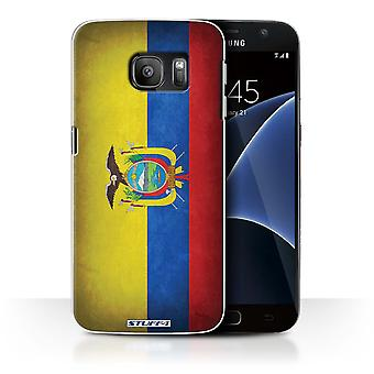 STUFF4 Case/Cover for Samsung Galaxy S7/G930/Ecuador/Ecuadorian/Flags