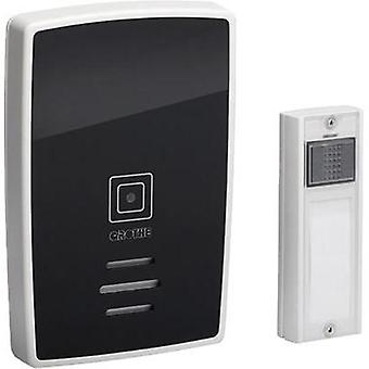 Wireless door chime Complete set with nameplate Grothe 43252