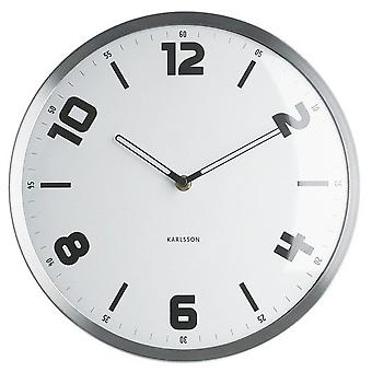 Karlsson Studio White Clock