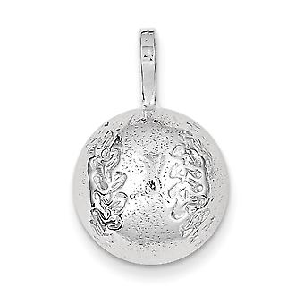 Charm in argento Sterling Baseball