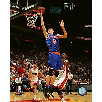 Kristaps Porzingis 2015-16 Action Photo Print