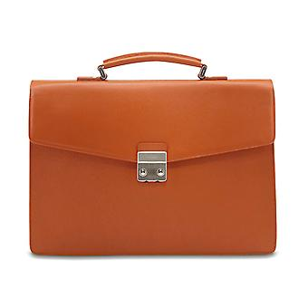 Mens Picard sacs brique serviette SOHO 8584 cuir Orange