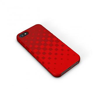 XTREMEMAC Tuffwrap iPhone Shell 5/5s/SEE Red