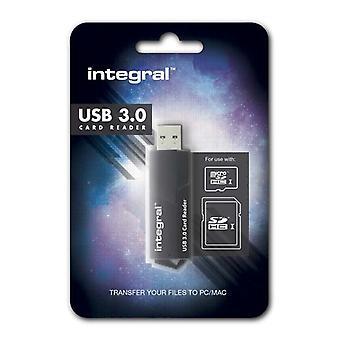 Fast USB 3.0 Dual Slot Card Reader for SDXC/SDHC & microSDXC / microSDXC Cards